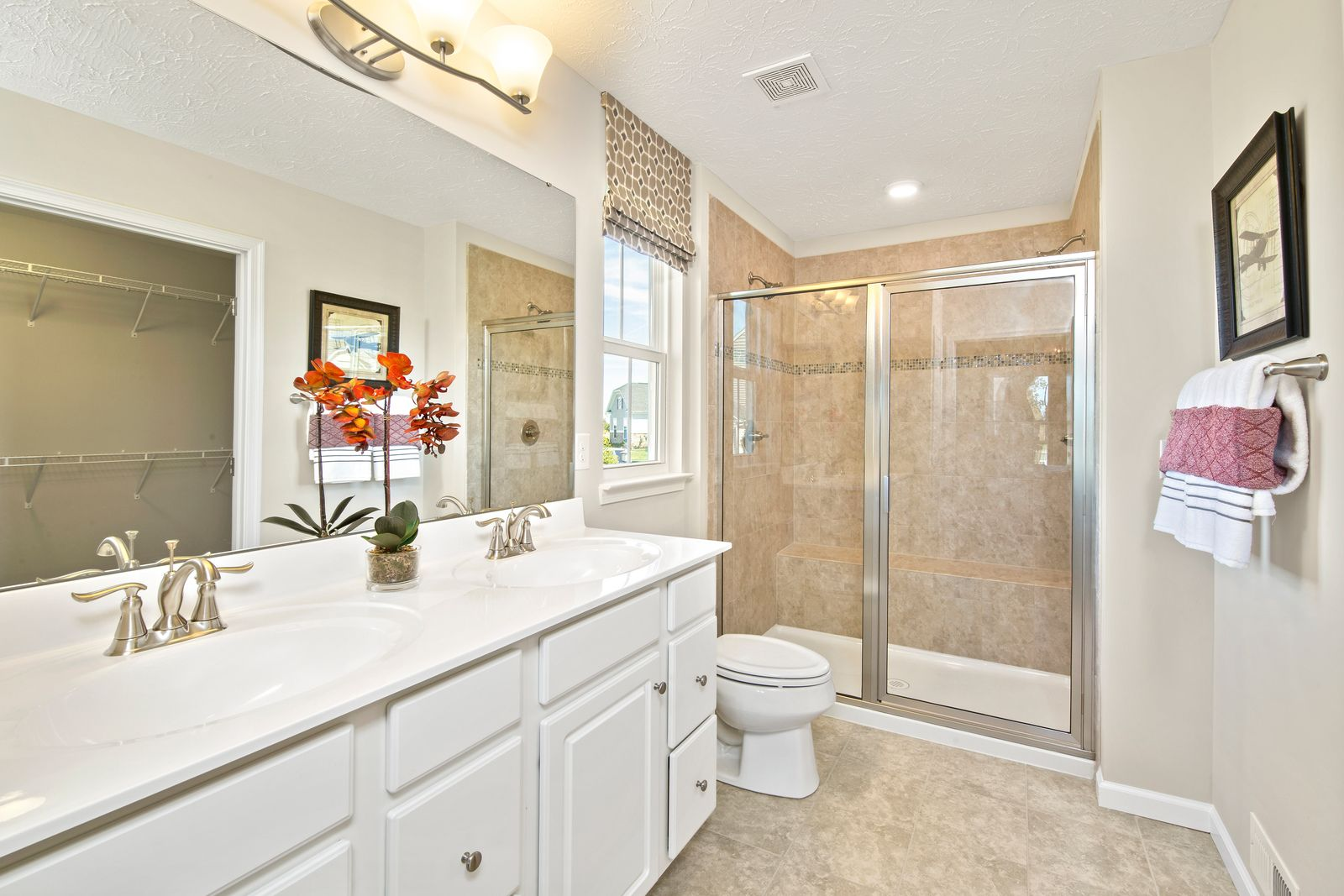 Bathroom featured in the Aviano By Ryan Homes in Cleveland, OH