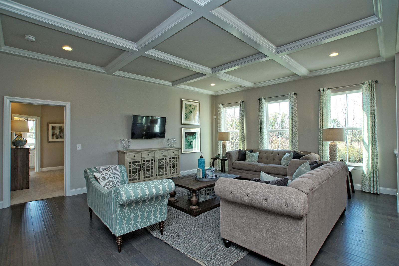 Living Area featured in the Esquire Place By Ryan Homes in Sussex, DE