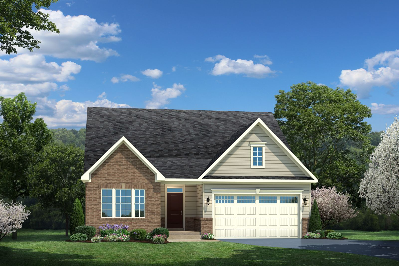 Exterior featured in the Bramante By Ryan Homes in Warren County, NJ