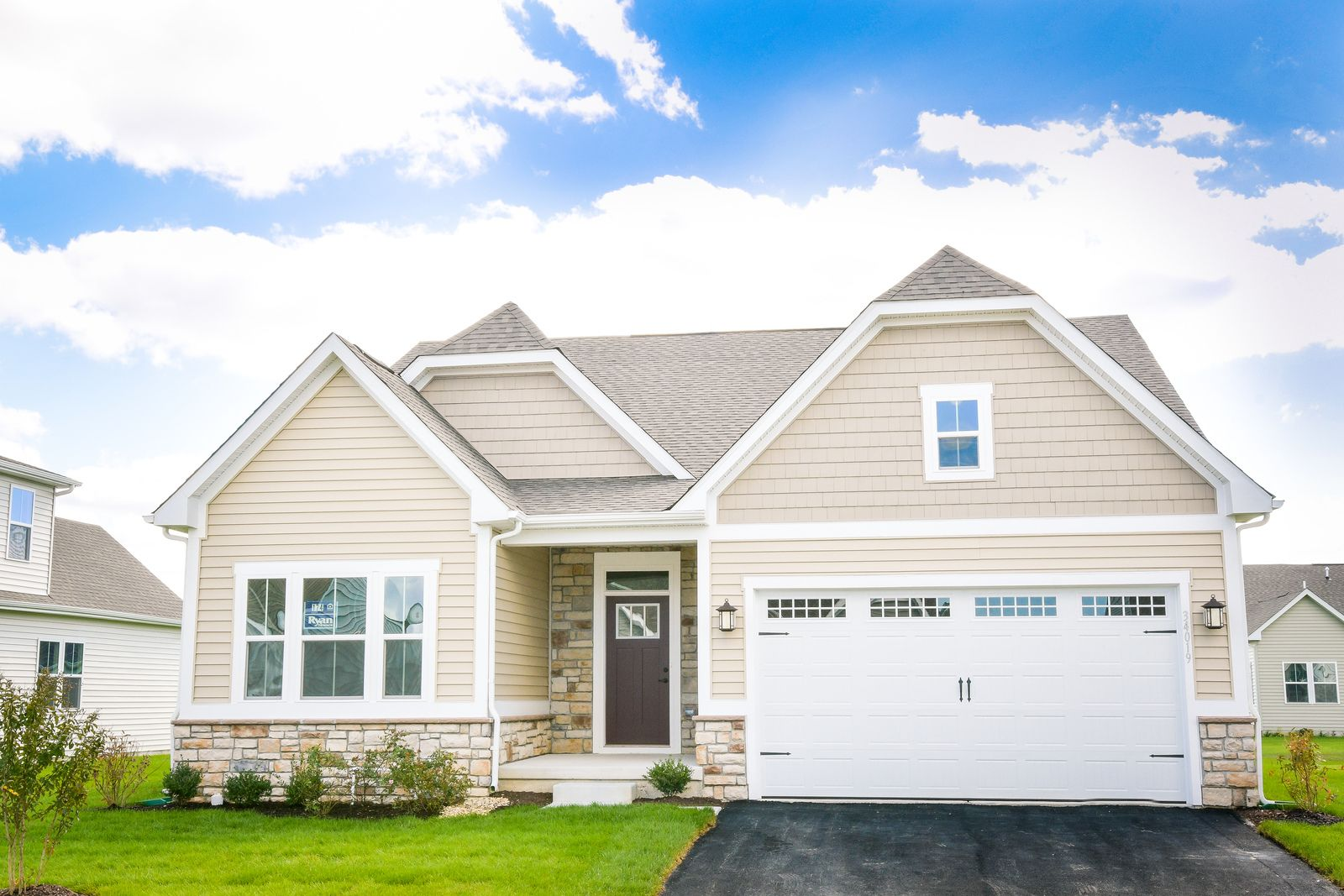 Exterior featured in the Bramante Ranch By Ryan Homes in Washington, VA