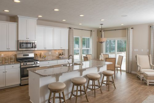 Greatroom-and-Dining-in-Andover-at-Fayette Farms Single Family Homes-in-Oakdale