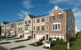 The Townes at Washington Square by Ryan Homes in Philadelphia New Jersey