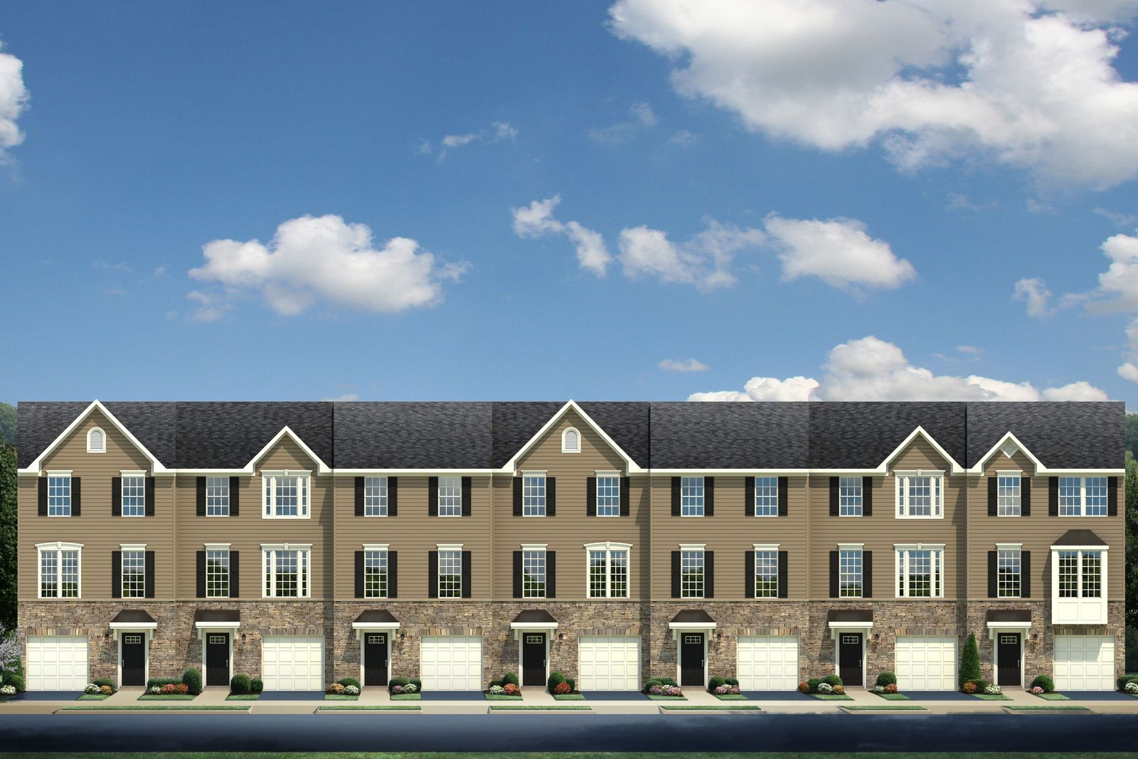 Exterior featured in the Mozart By Ryan Homes in Philadelphia, NJ