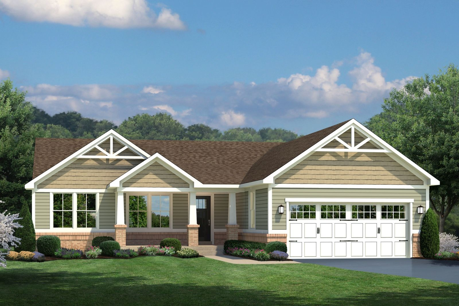 Exterior featured in the Aviano By Ryan Homes in Ocean City, MD