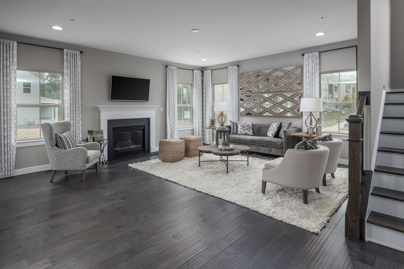 Living Area featured in the Columbia By Ryan Homes in Washington, VA