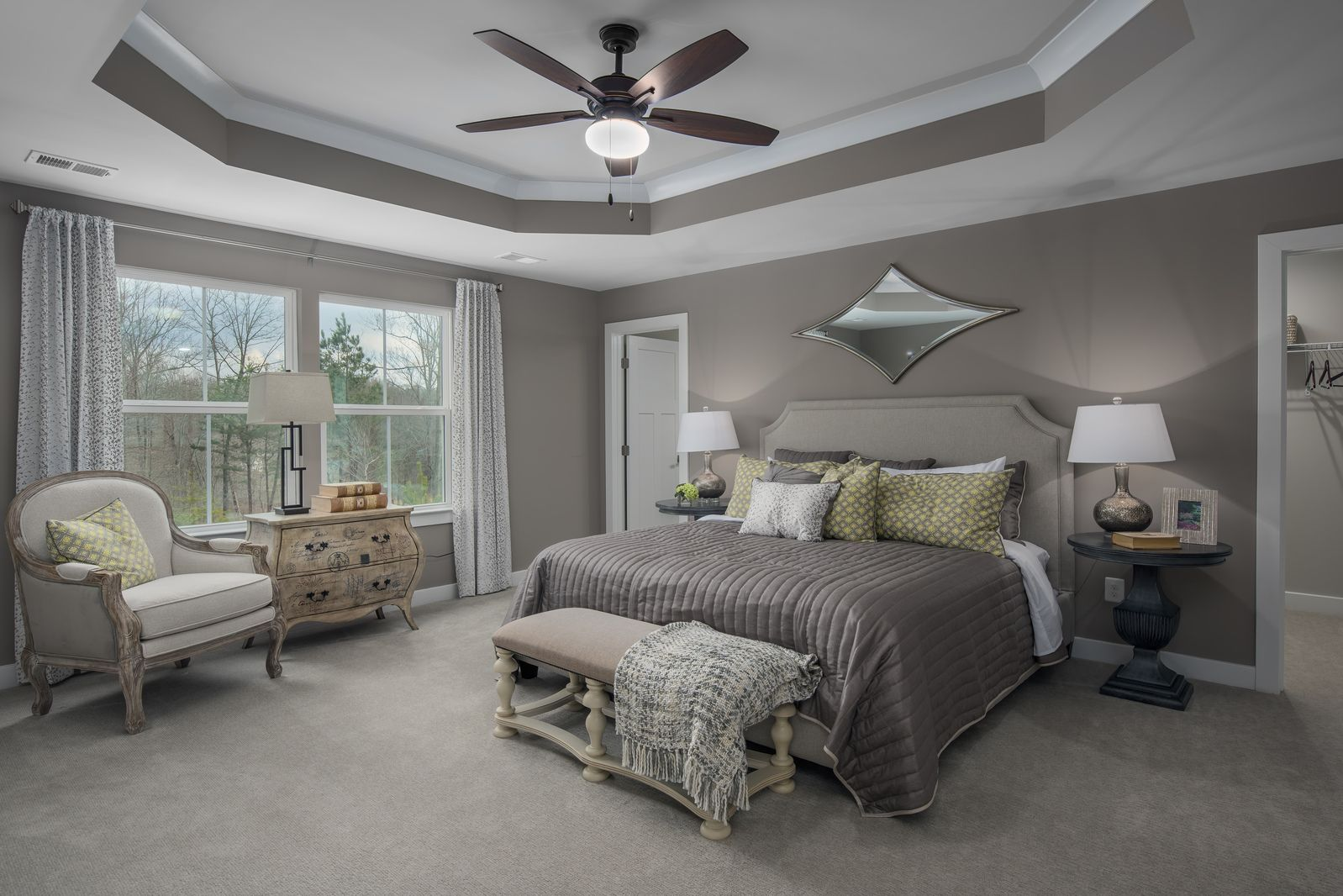 Bedroom featured in the Landon By Ryan Homes in Washington, MD