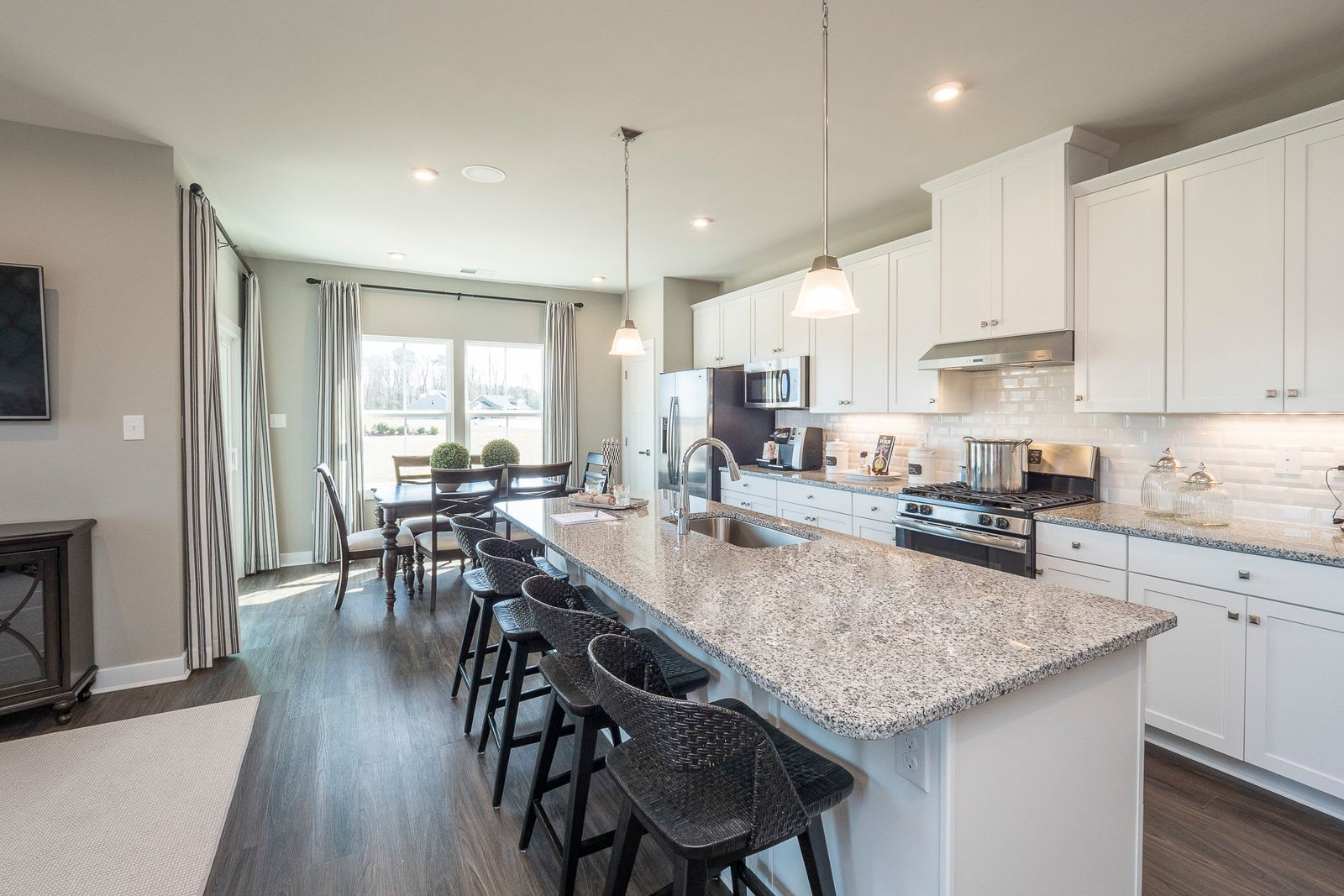 Kitchen featured in the Bramante By Ryan Homes in Sussex, DE