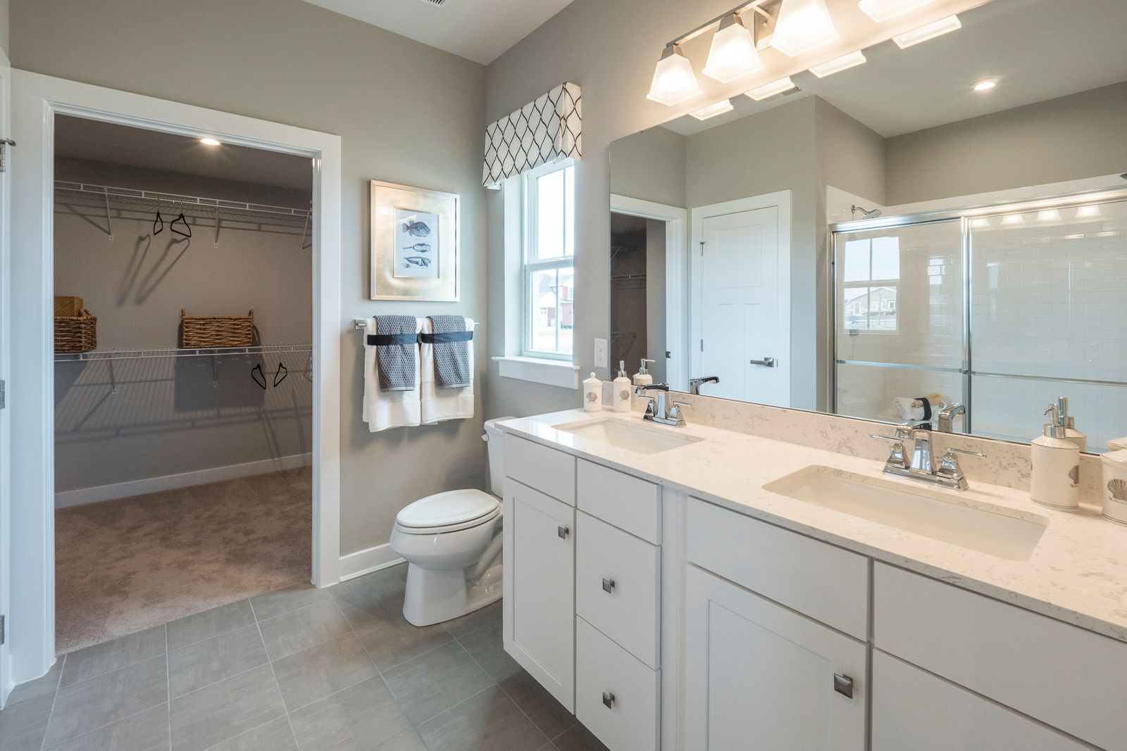 Bathroom featured in the Bramante By Ryan Homes in Warren County, NJ