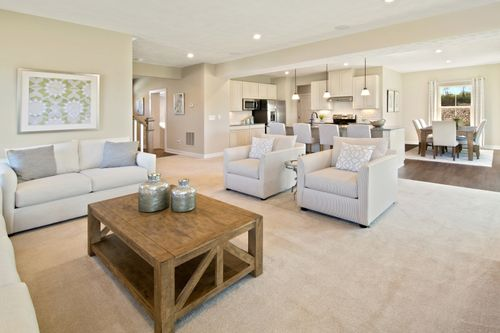 Greatroom-and-Dining-in-Columbia-at-Fayette Farms Single Family Homes-in-Oakdale