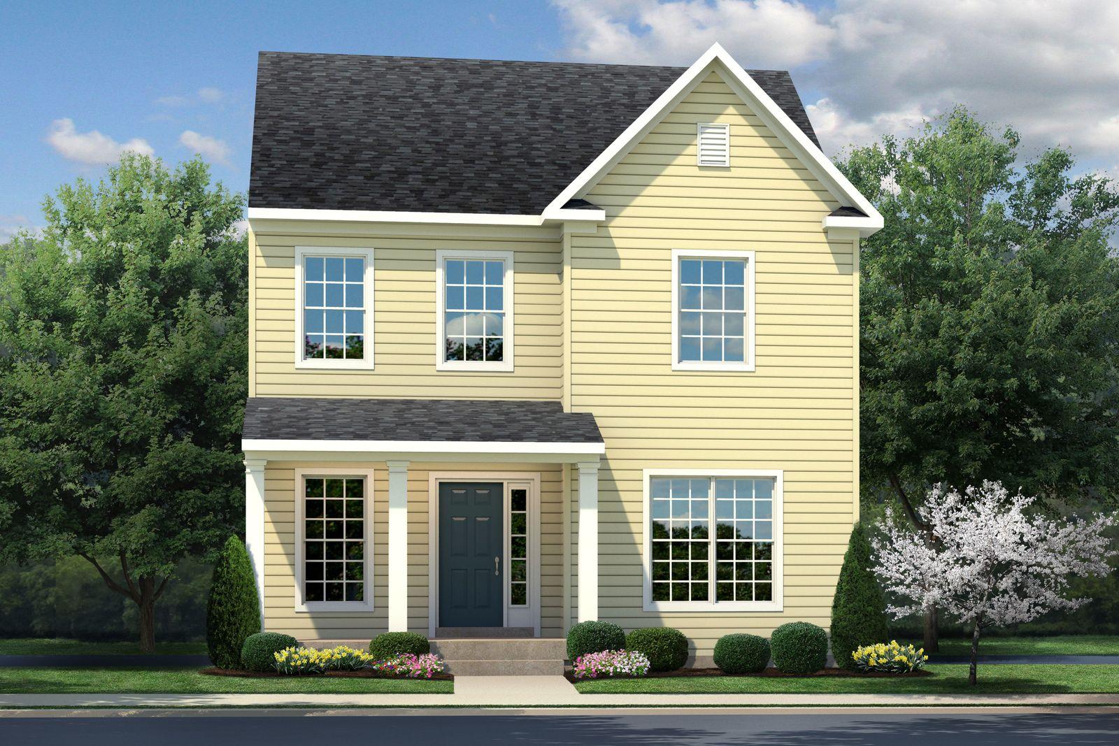 Exterior featured in the Robert Frost By Ryan Homes in Norfolk-Newport News, VA