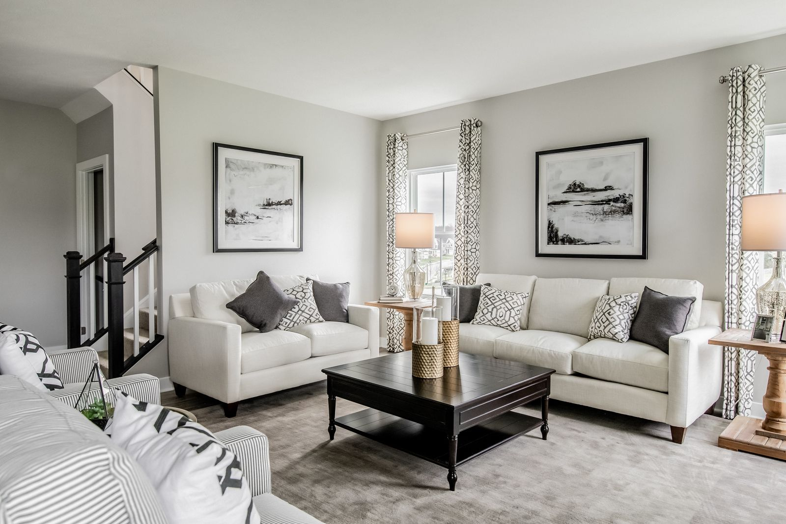 Living Area featured in the Columbia By Ryan Homes in Indianapolis, IN