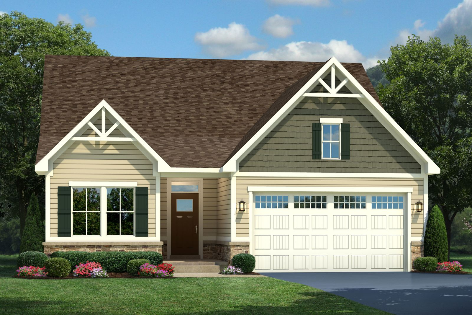 Exterior featured in the Alberti By Ryan Homes in Ocean City, MD