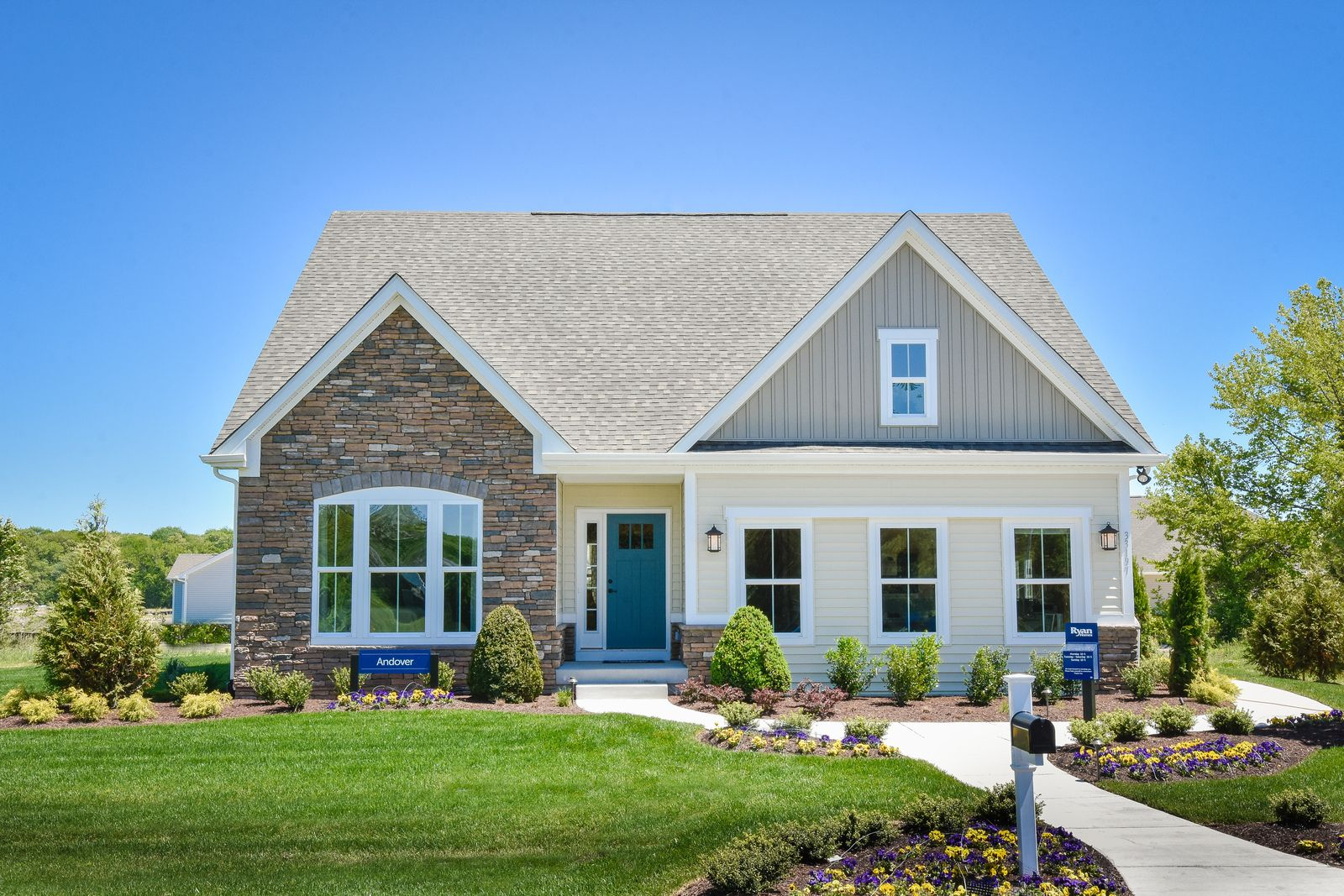 Exterior featured in the Andover Ranch w/ Finished Lower Level By Ryan Homes in Cincinnati, OH