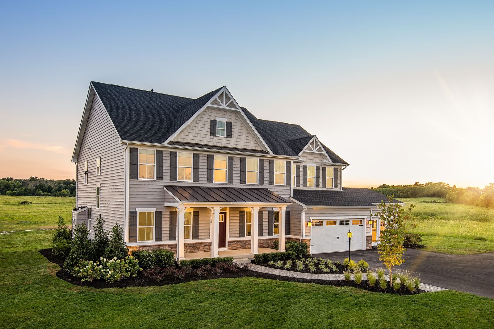 Exterior featured in the Normandy By Ryan Homes in Cincinnati, OH