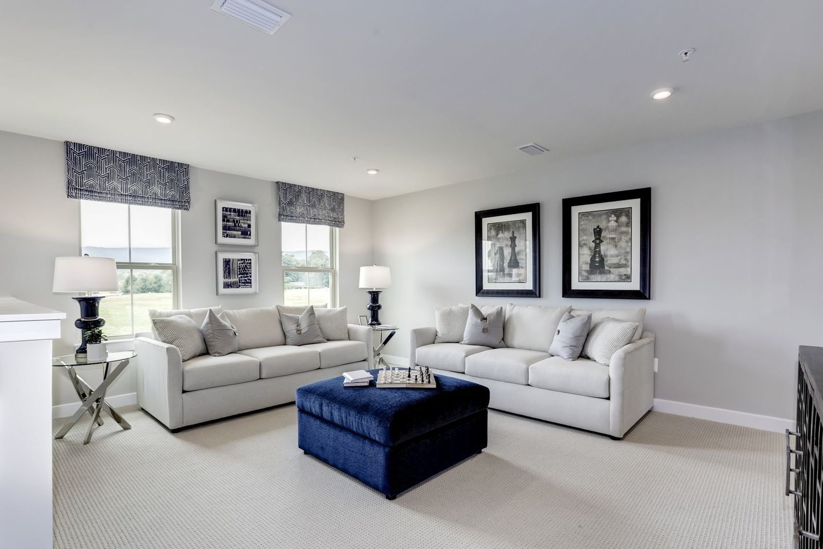 Living Area featured in the Palladio 2 Story By Ryan Homes in Philadelphia, NJ