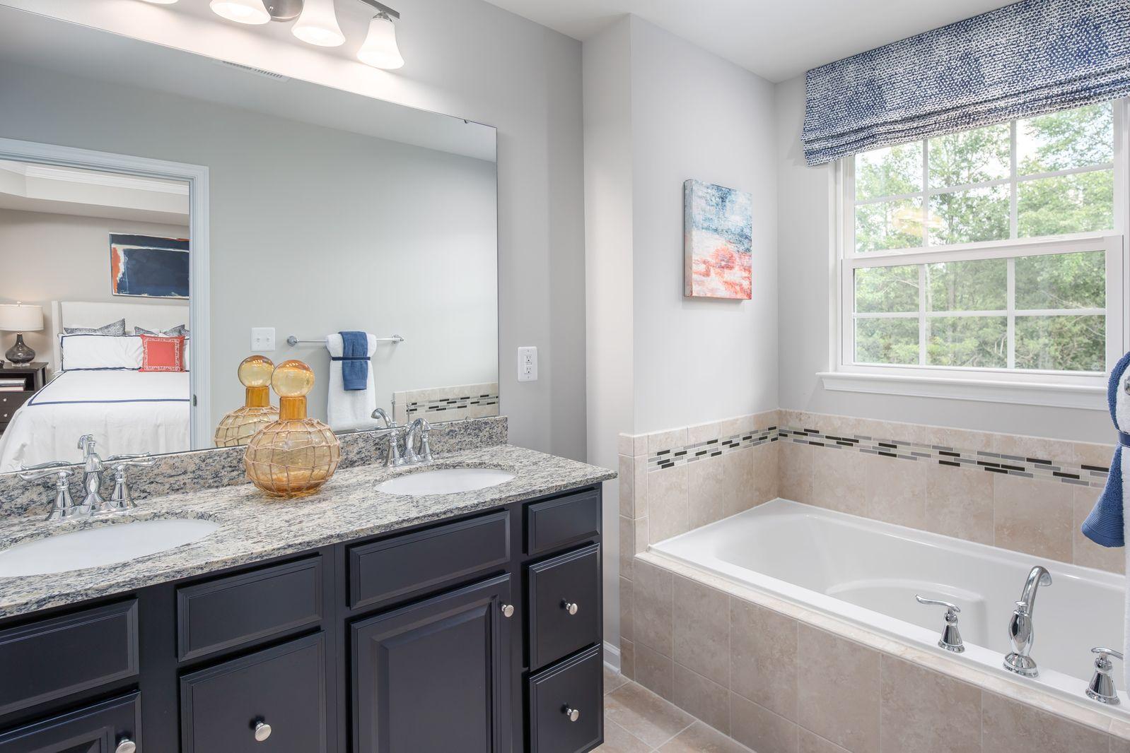 Bathroom featured in the Schubert By Ryan Homes in Washington, VA