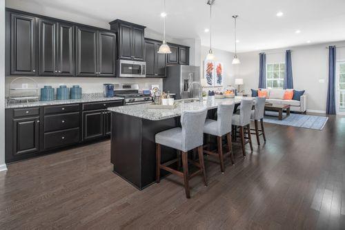 Kitchen-in-Schubert-at-Pondview Townhomes-in-Millersville