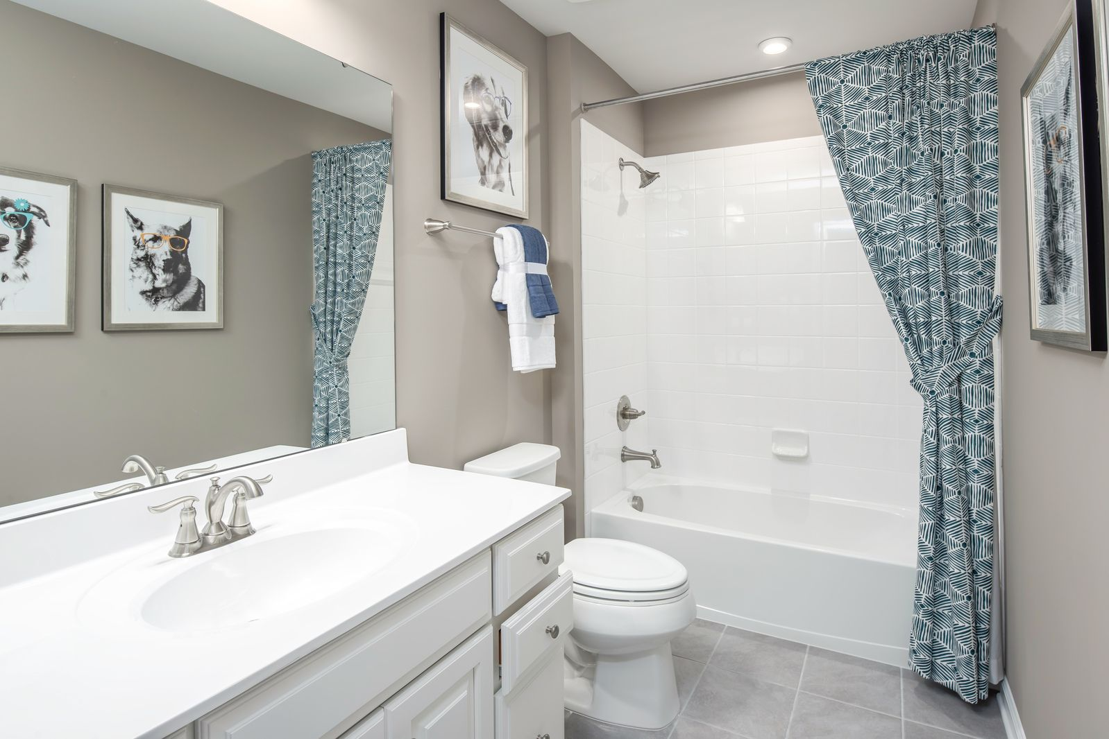 Bathroom featured in the Columbia By Ryan Homes in Cleveland, OH