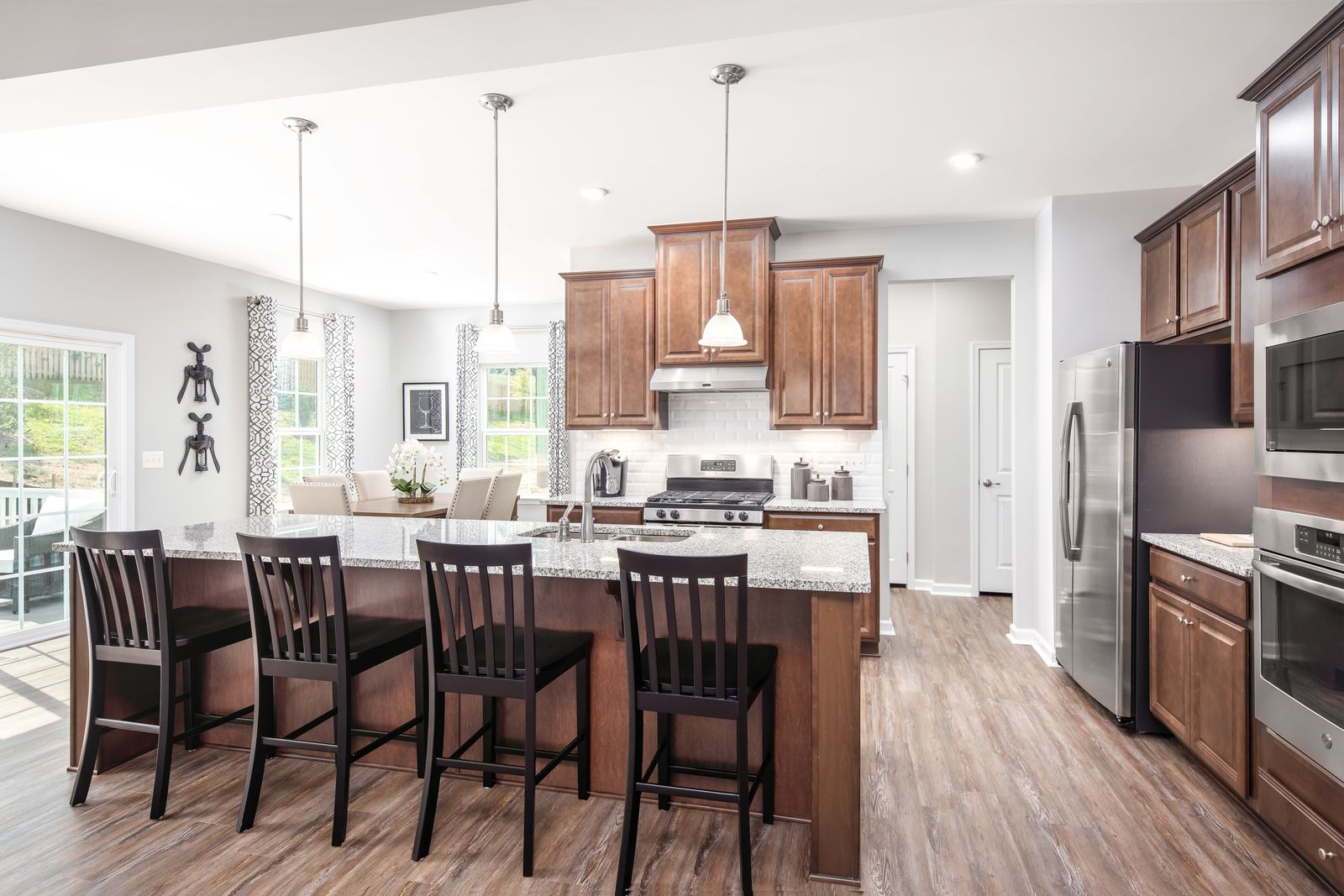 Kitchen featured in the Columbia By Ryan Homes in Cleveland, OH
