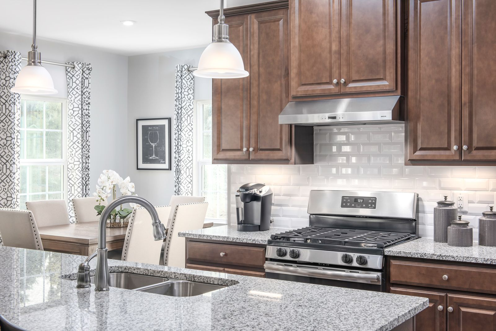 Kitchen featured in the Columbia By Ryan Homes in Indianapolis, IN