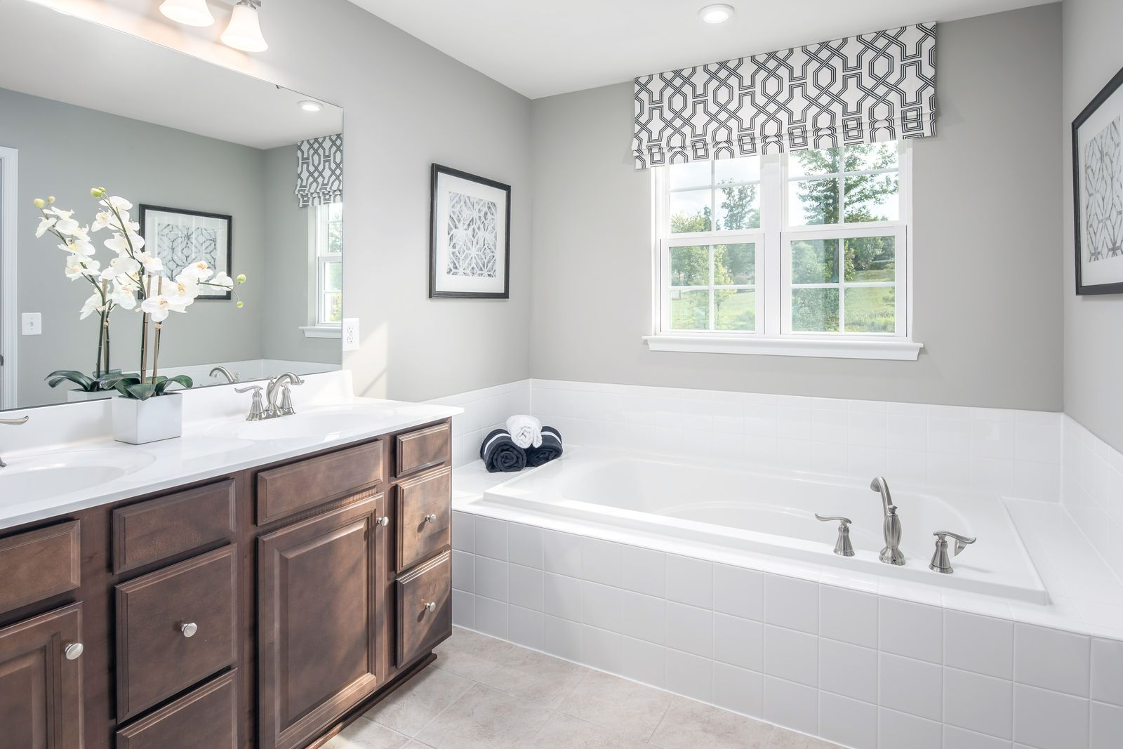 Bathroom featured in the Columbia By Ryan Homes in Philadelphia, PA