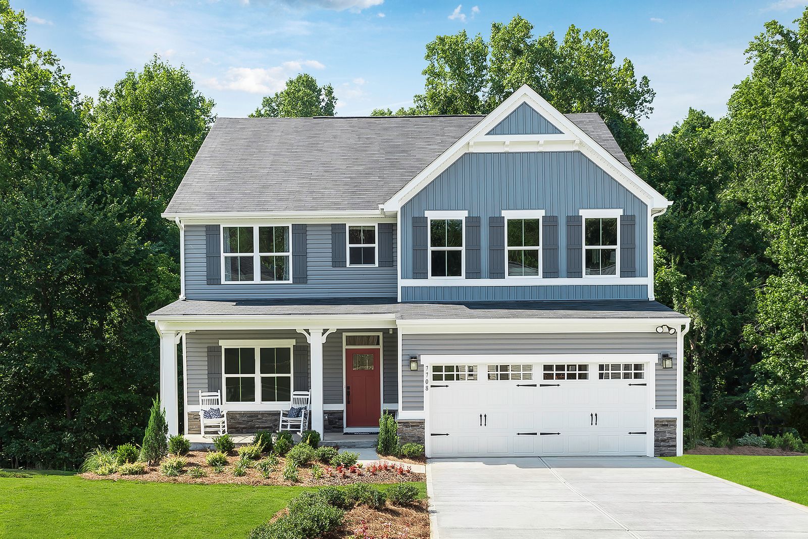 Exterior featured in the Hudson By Ryan Homes in Charlotte, NC