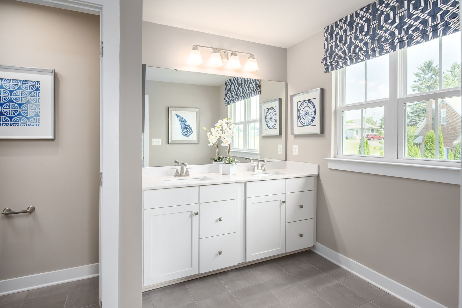 Bathroom featured in the Columbia By Ryan Homes in Indianapolis, IN