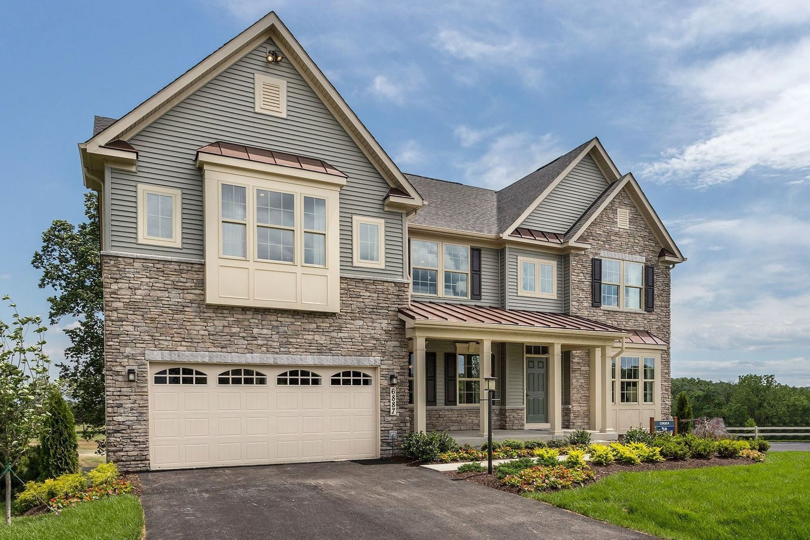 Exterior featured in the Corsica By Ryan Homes in Washington, MD