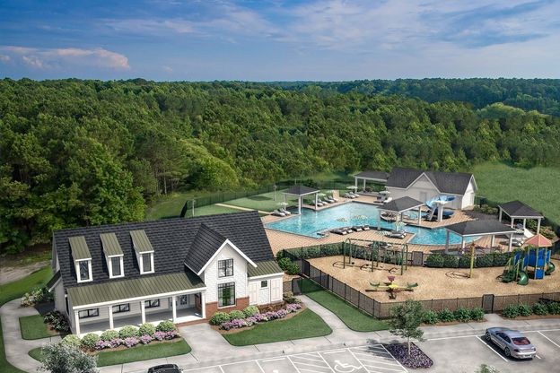 WELCOME TO GILES:Fresh country air, walking distance to schools and an amenities like the Giles' Magnolia Pool & Clubhouse make this the perfect community to call Home! #HomeSweetHanover