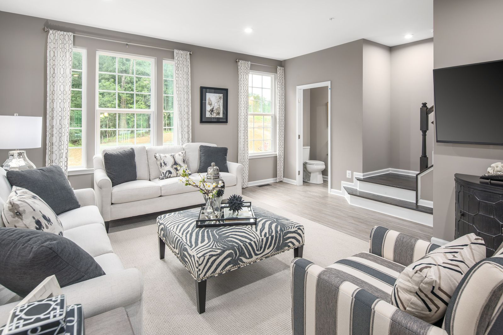 Living Area featured in the Mozart By Ryan Homes in Philadelphia, NJ
