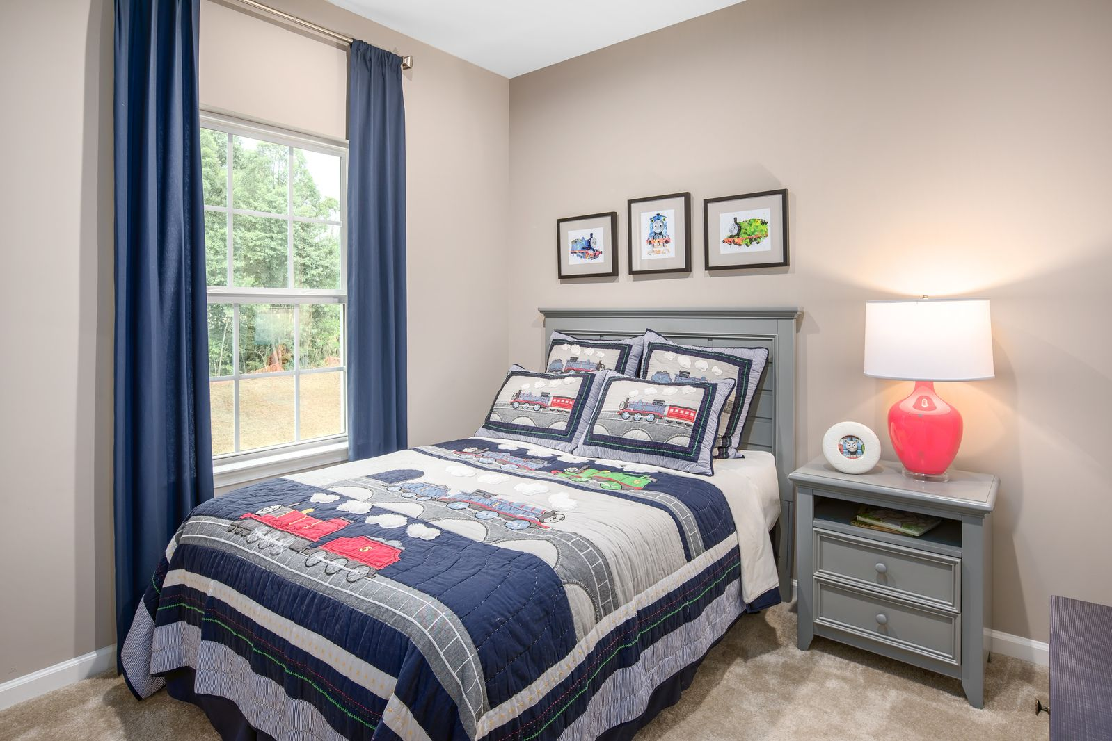 Bedroom featured in the Mozart 2-Car Garage By Ryan Homes in Baltimore, MD