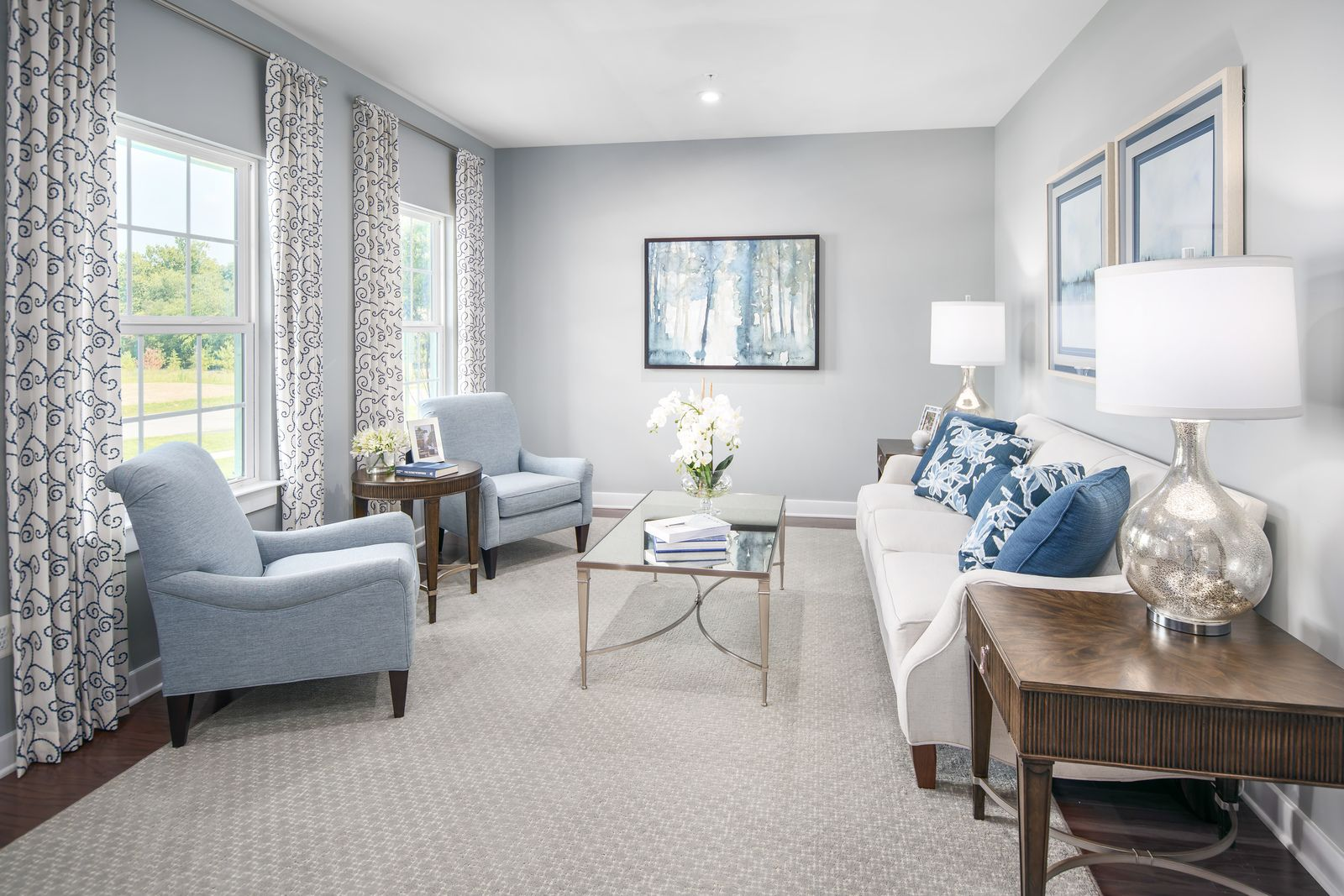 Living Area featured in the Lehigh By Ryan Homes in Baltimore, MD