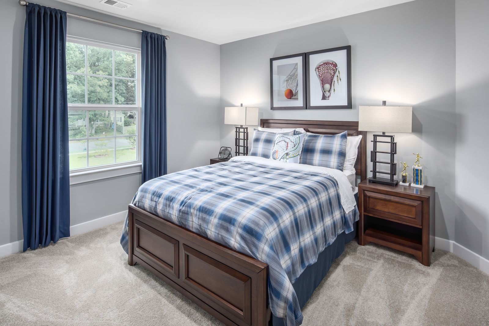 Bedroom featured in the Lehigh By Ryan Homes in Baltimore, MD