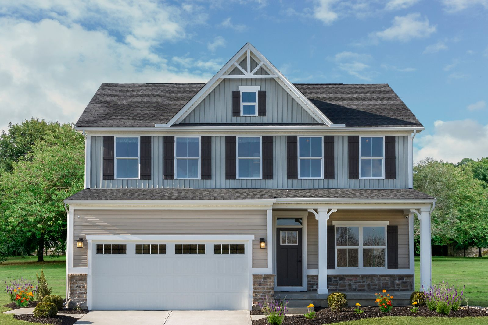 Exterior featured in the Columbia By Ryan Homes in Columbus, OH