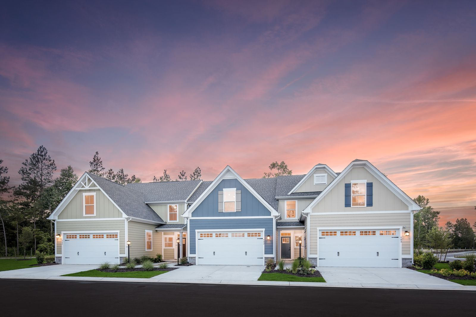 Exterior featured in the Calvert By Ryan Homes in Buffalo-Niagara Falls, NY