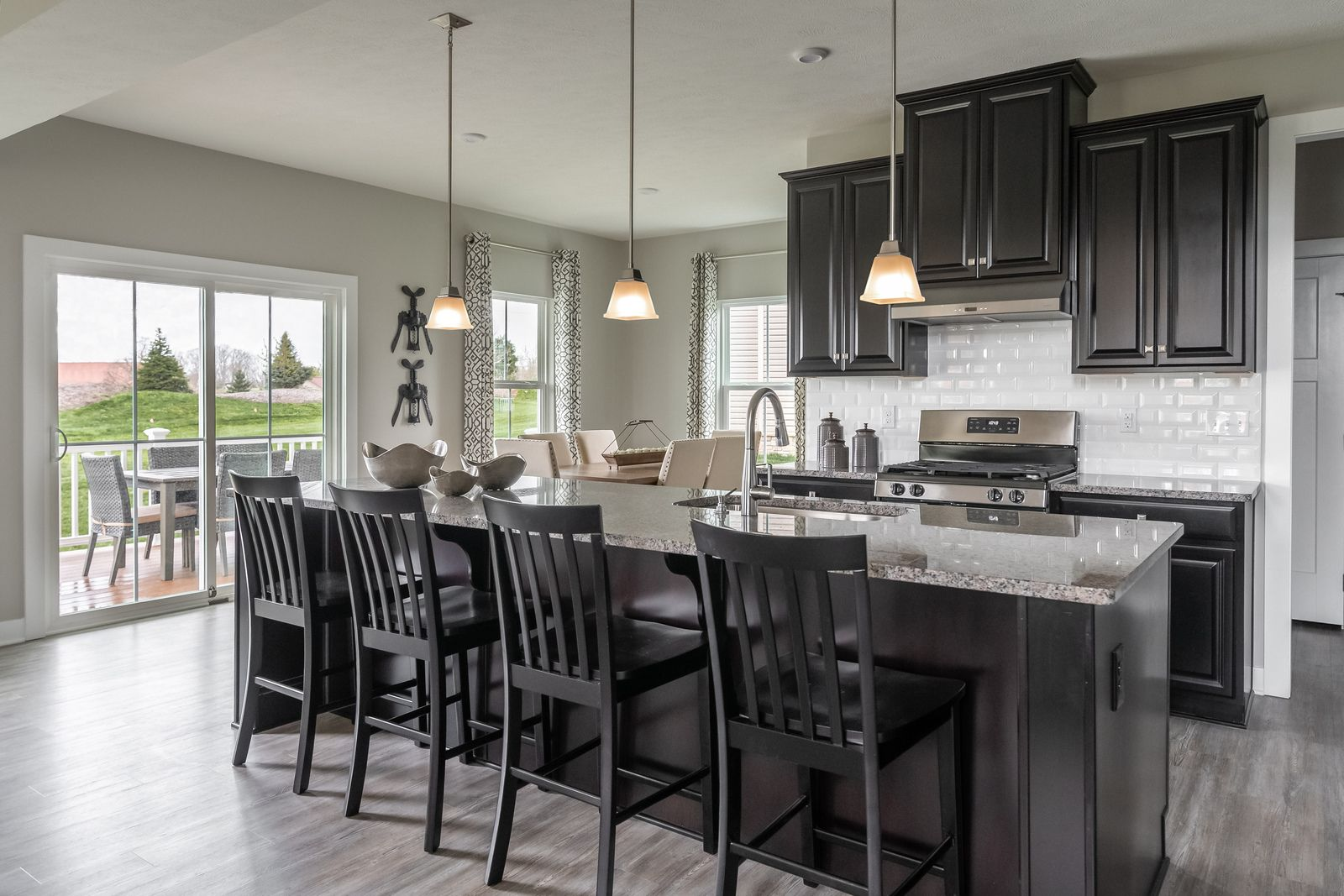 Kitchen featured in the Columbia w/ Finished Basement By Ryan Homes in Dayton-Springfield, OH