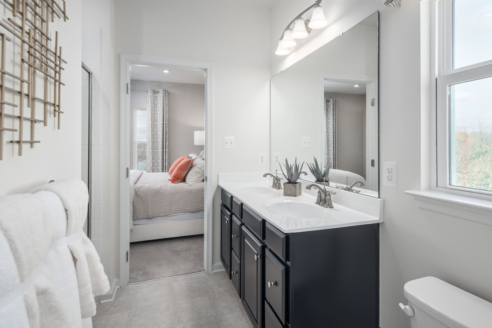 Bathroom featured in the Clarendon 3 Story By Ryan Homes in Baltimore, MD