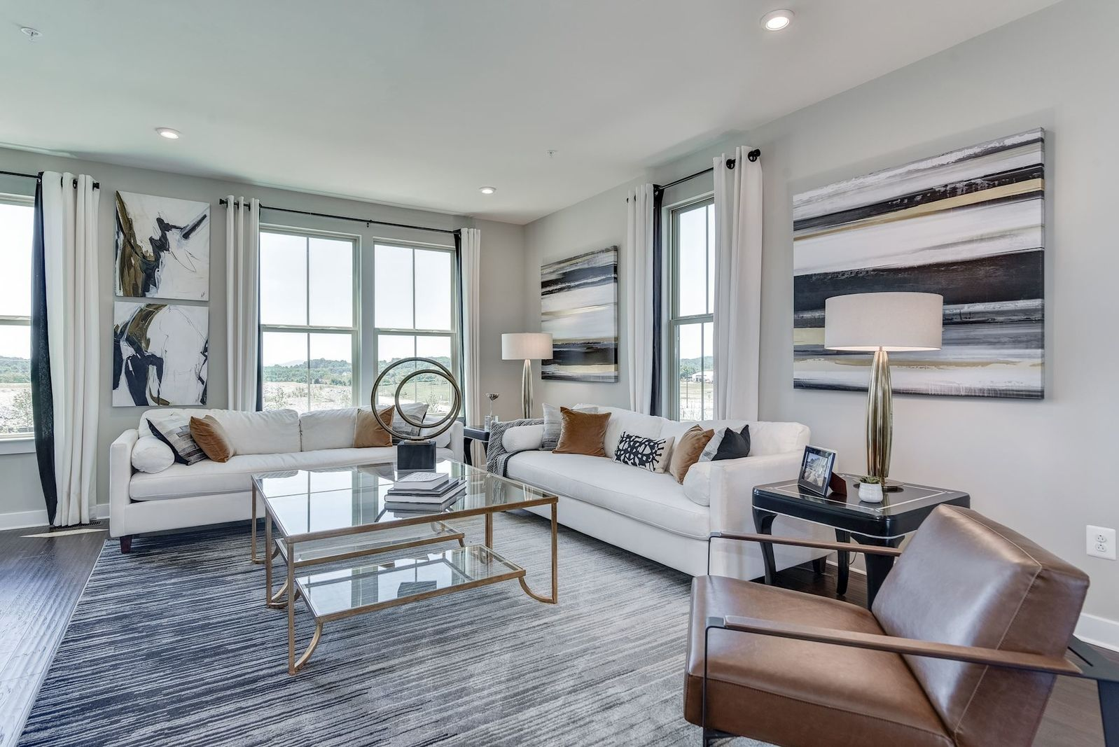 Living Area featured in the Strauss Loft with Rooftop By Ryan Homes in Baltimore, MD