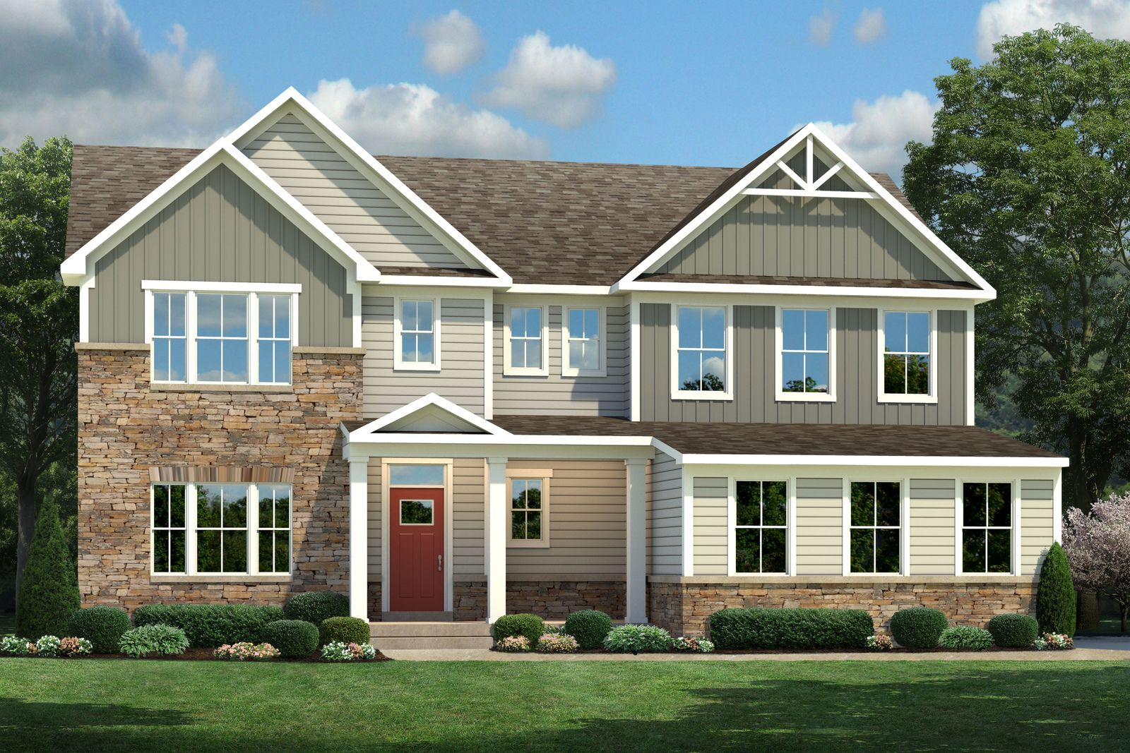 Exterior featured in the Roanoke By Ryan Homes in Philadelphia, NJ
