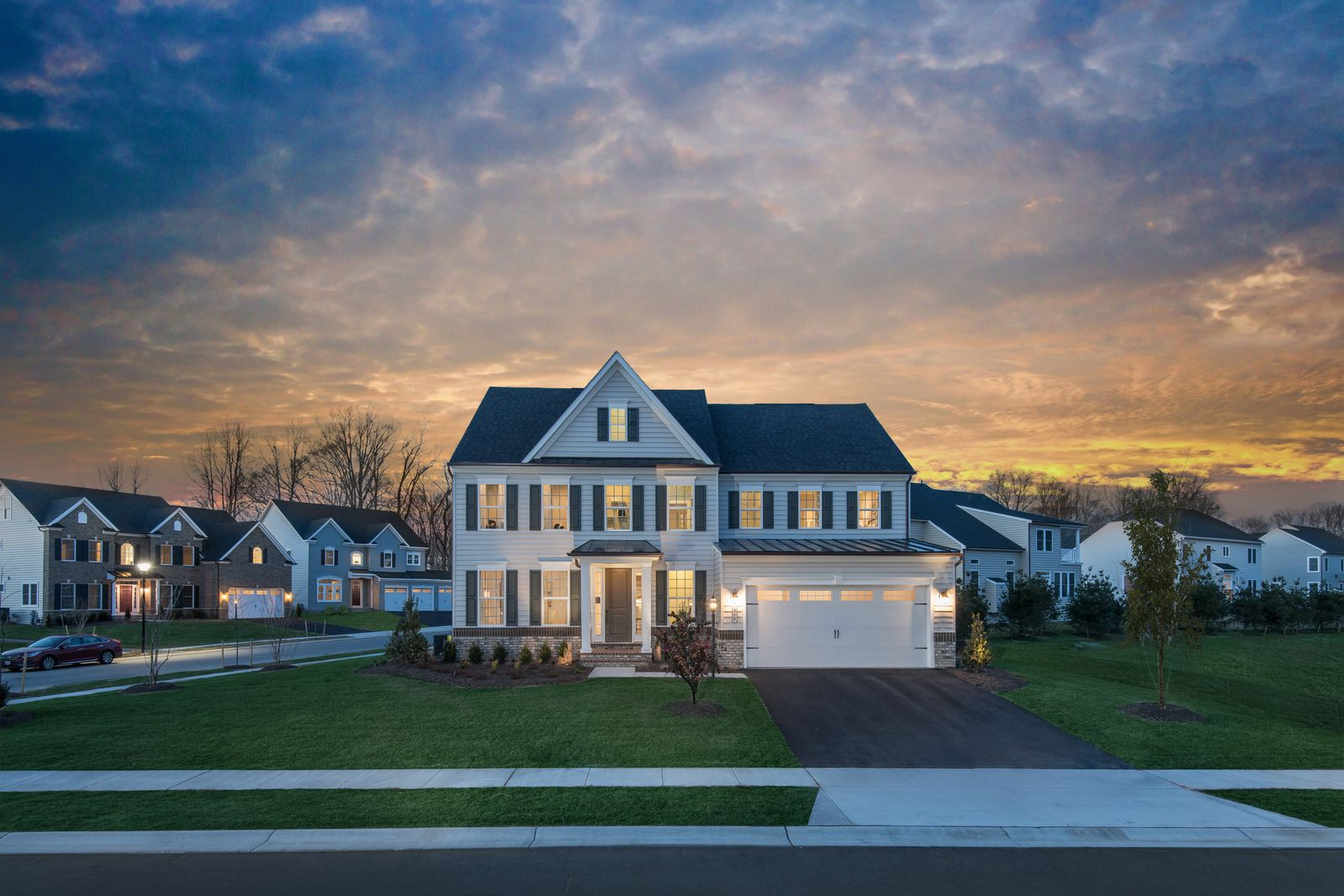 Exterior featured in the Longwood By NVHomes in Baltimore, MD