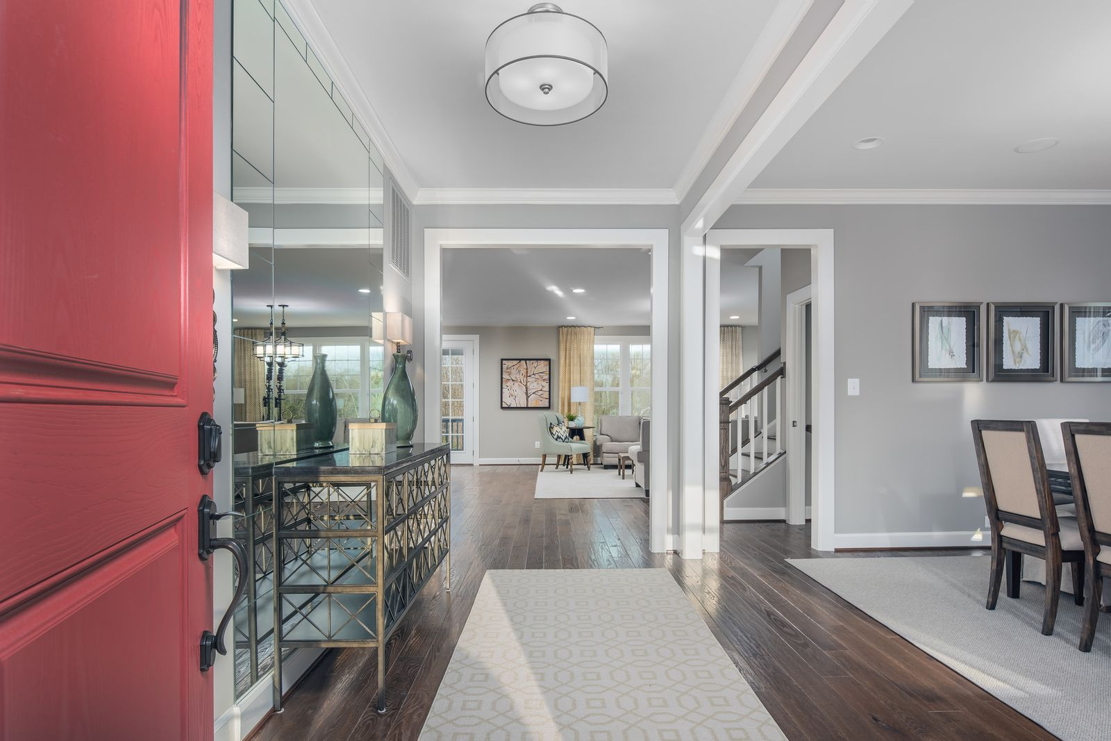 Living Area featured in the Longwood By NVHomes in Baltimore, MD