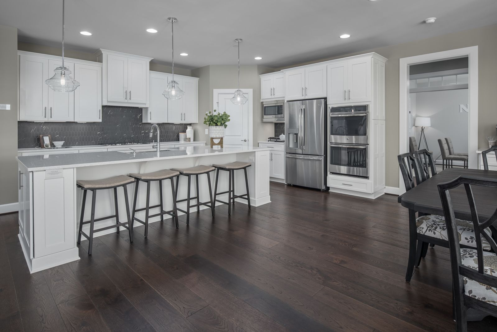 Kitchen featured in the Marymount By NVHomes in Baltimore, MD
