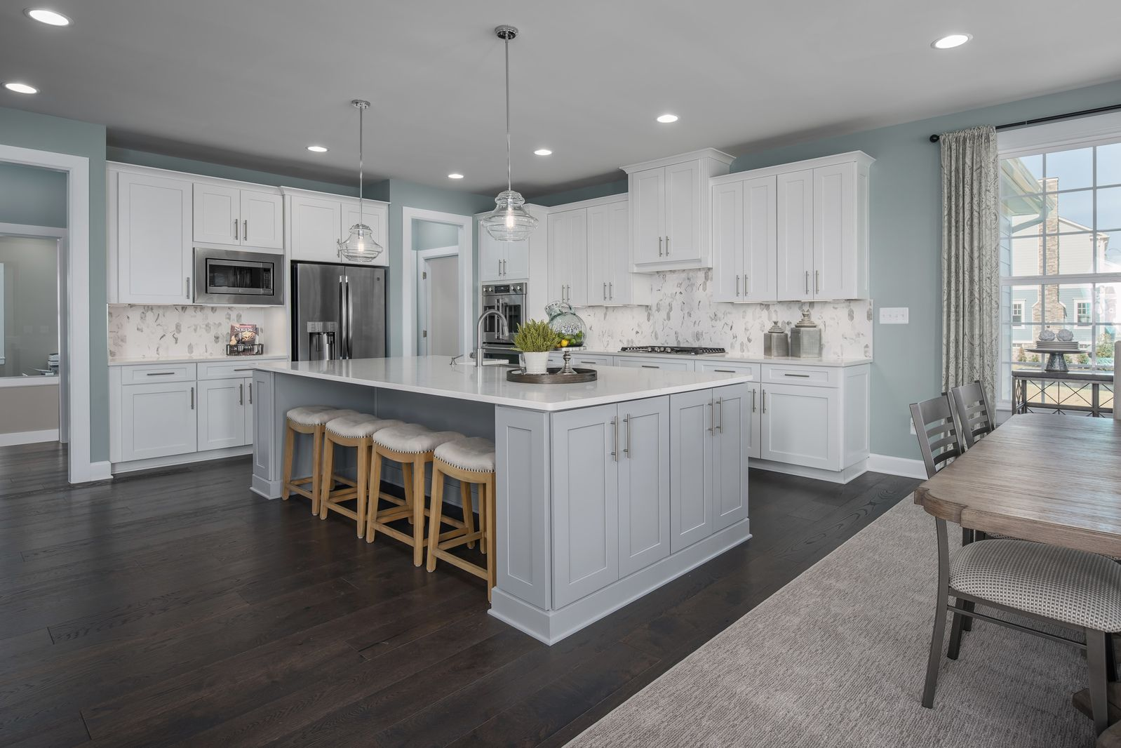 Kitchen featured in the Radford By NVHomes in Washington, MD