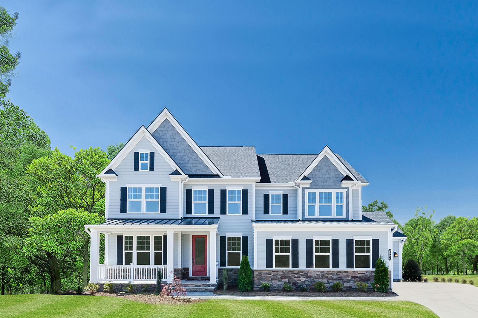 Exterior featured in the Longwood By NVHomes in Washington, MD