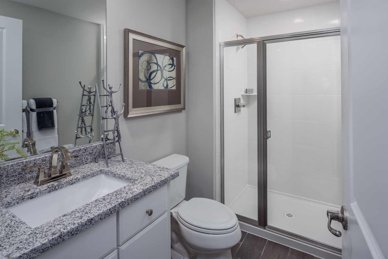 Bathroom featured in the Baldwin By NVHomes in Washington, MD