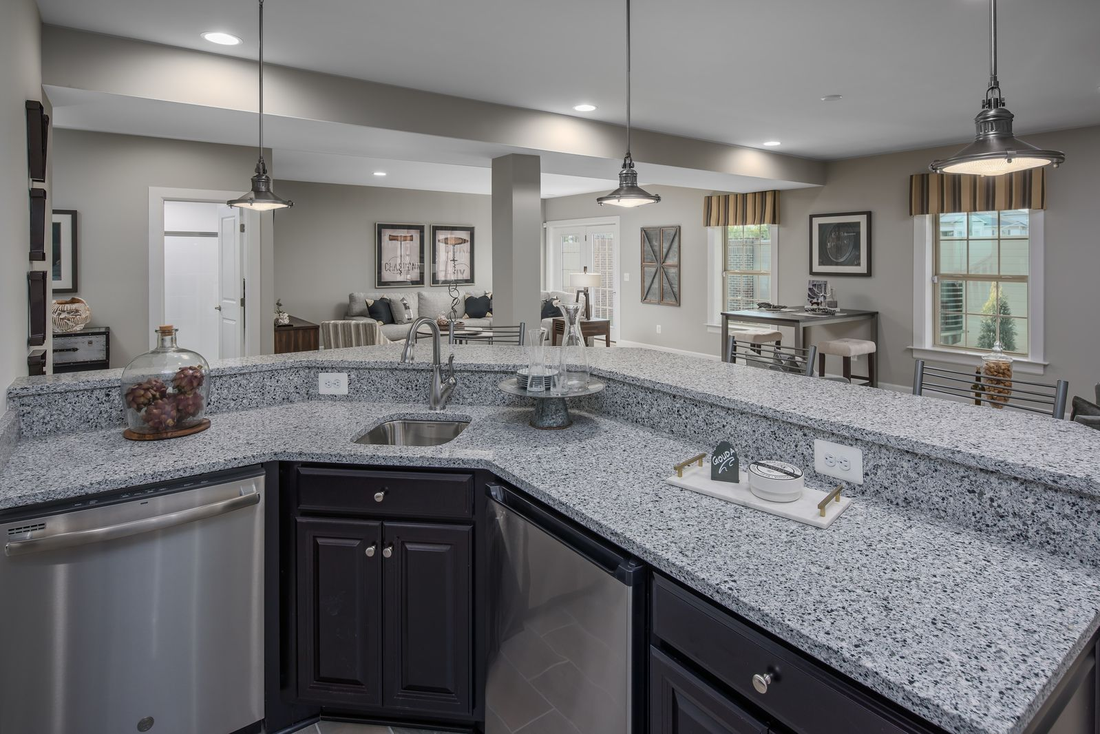 Kitchen featured in the Baldwin By NVHomes in Washington, MD
