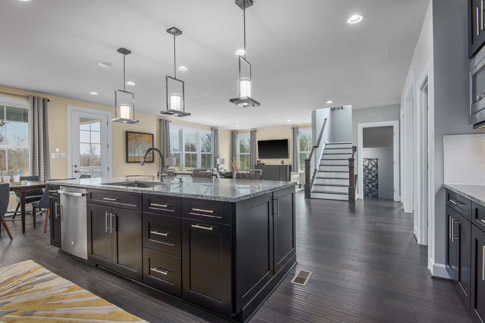Kitchen featured in the Longwood By NVHomes in Baltimore, MD