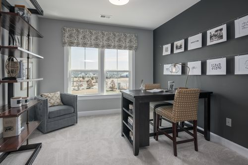 Study-in-Monocacy-at-55+ Active Adult Villas at Boxwood-in-Urbana