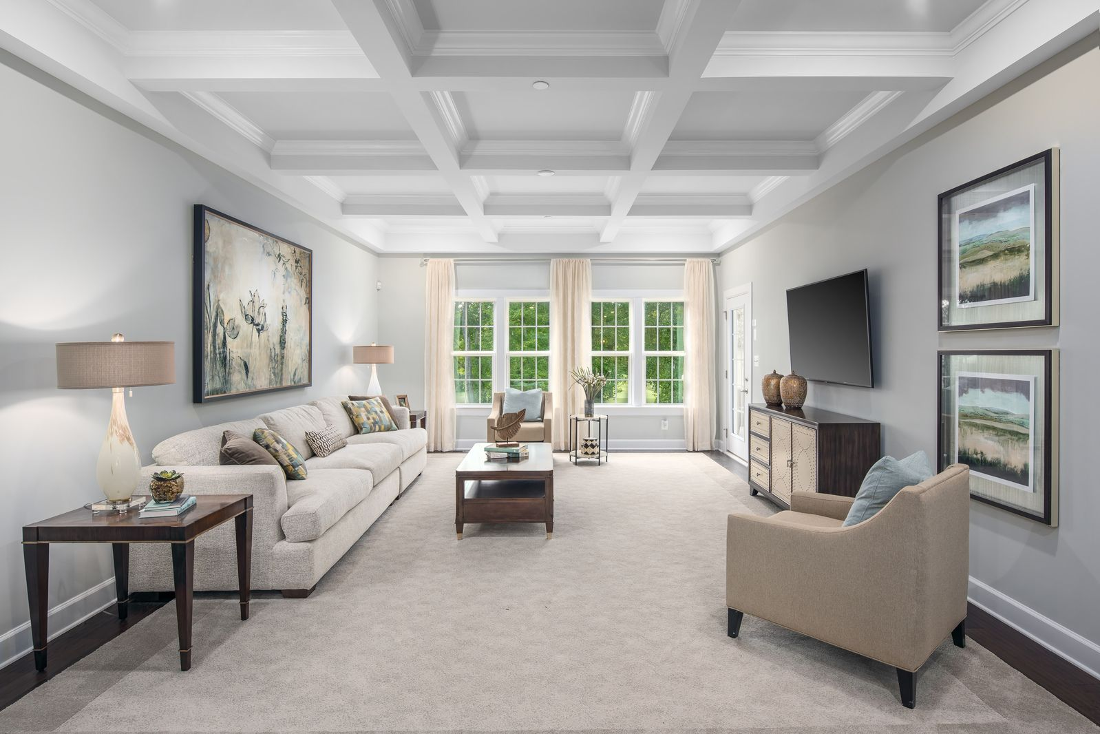 Greatroom-and-Dining-in-Monocacy-at-55+ Active Adult Villas at Boxwood-in-Urbana
