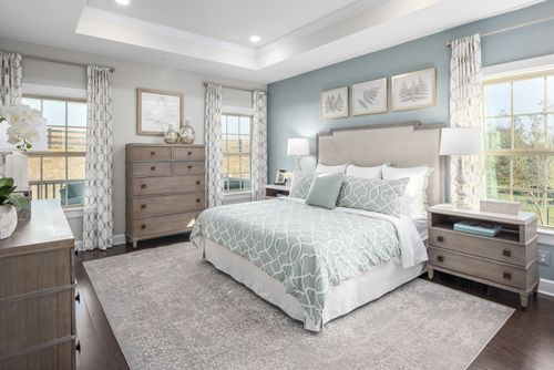 Bedroom-in-Monocacy-at-55+ Active Adult Villas at Boxwood-in-Urbana